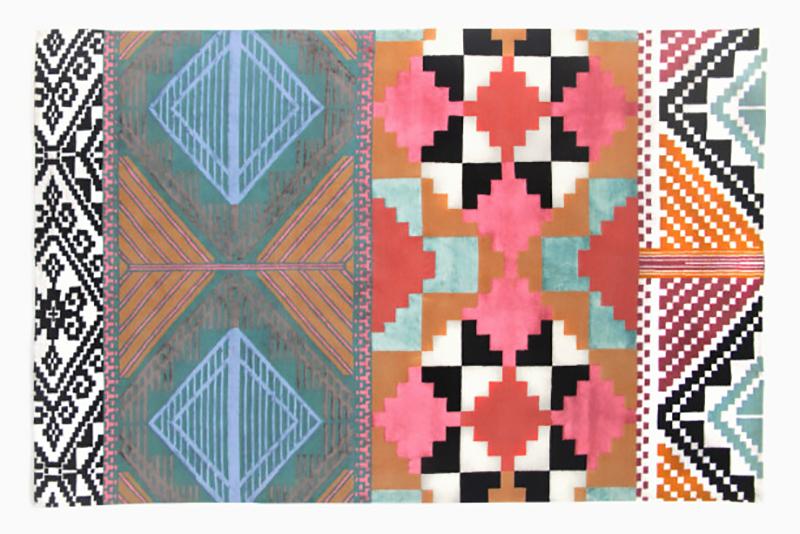 Elizalde's completed Tesoro rug