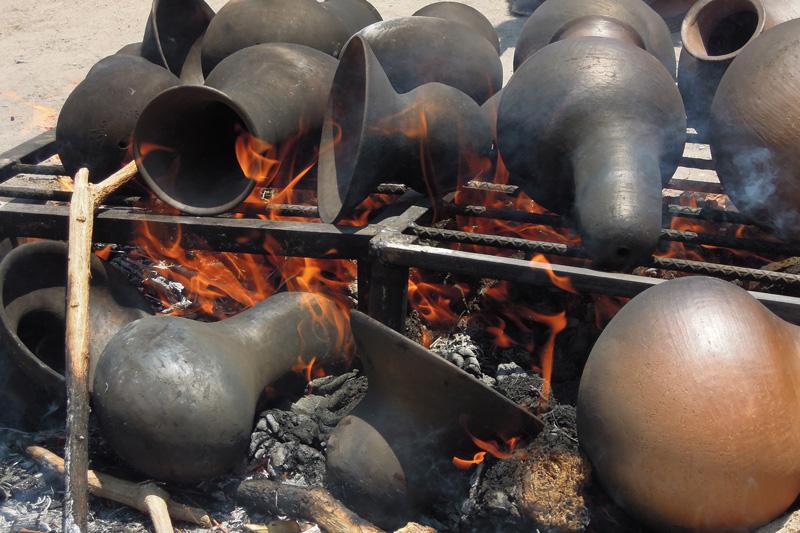 firing the vessels
