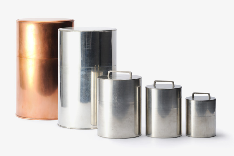Chazutsu Tea Caddies by Kaikado, courtesy of Atelier Courbet and L'ArcoBaleno