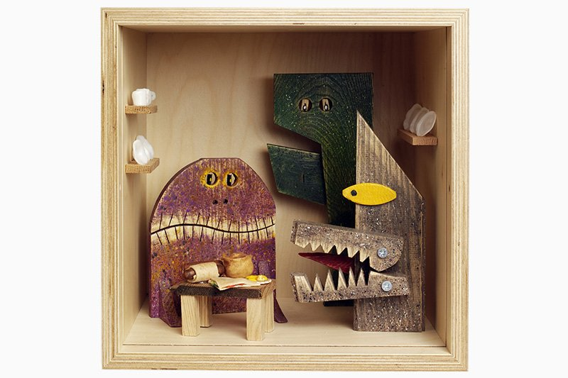 """Monsters in the Pantry"" by Peter Marigold © Victoria & Albert Museum"
