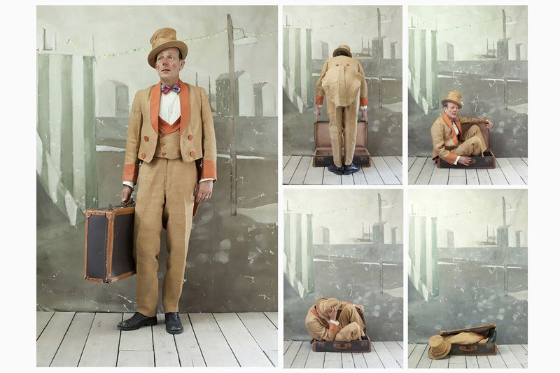 The Man in the Suitcase, part of Short Stories; © Paolo Ventura