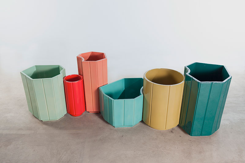 India Madhavi's S3 Vases, part of the Landscape series. Photo courtesy of the designer.