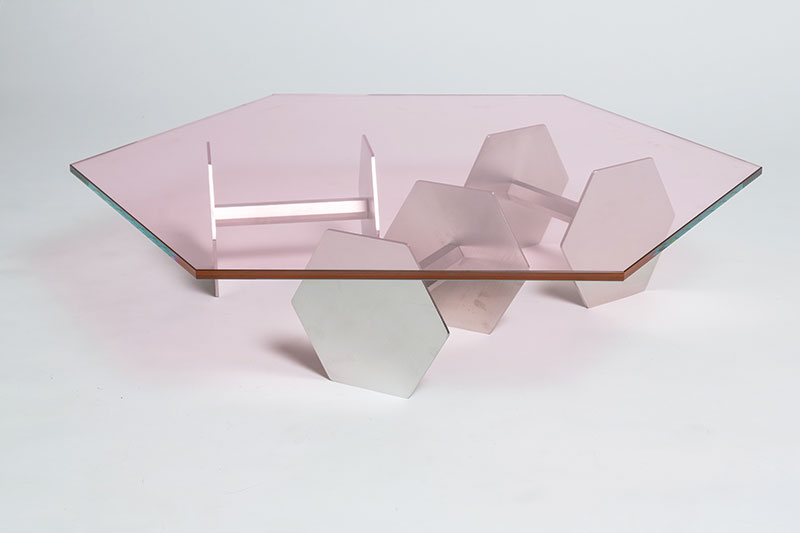 Body Building coffee table. Photo by Delfino Sisto Legnani and Marco Cappelletti; courtesy of Atelier Biagetti.