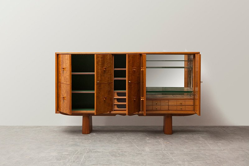 Deco-style Bar Cabinet produced by Atelier Borsani Varedo, 1937