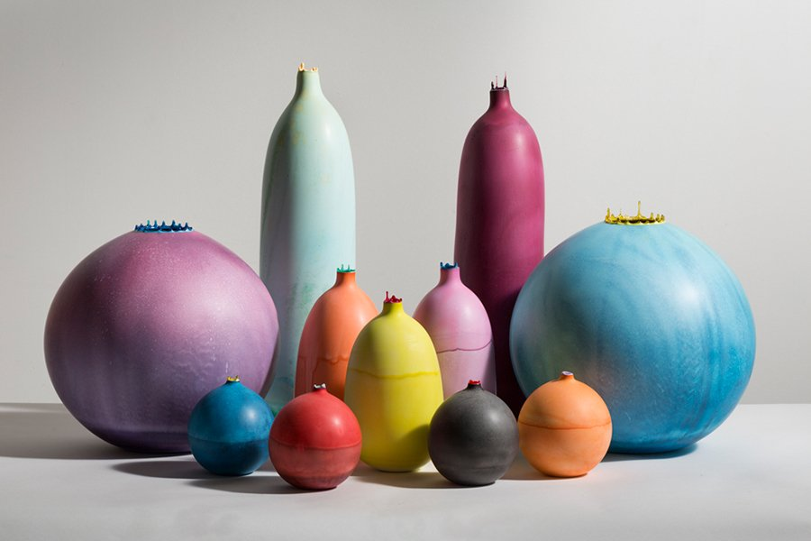 Vases by Elyse Graham, photo © Peter Bohler