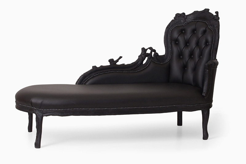 Where There's Smoke Barok Chaise Longue by Maarten Baas, 2004. Courtesy of BAAS.