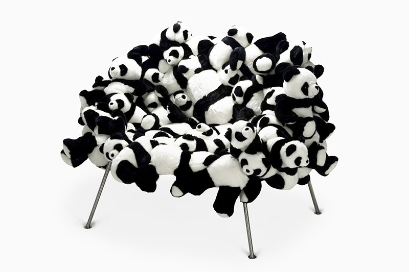 Panda Banquete Chair by Humberto & Fernando Campana, 2005. Courtesy of the designers.