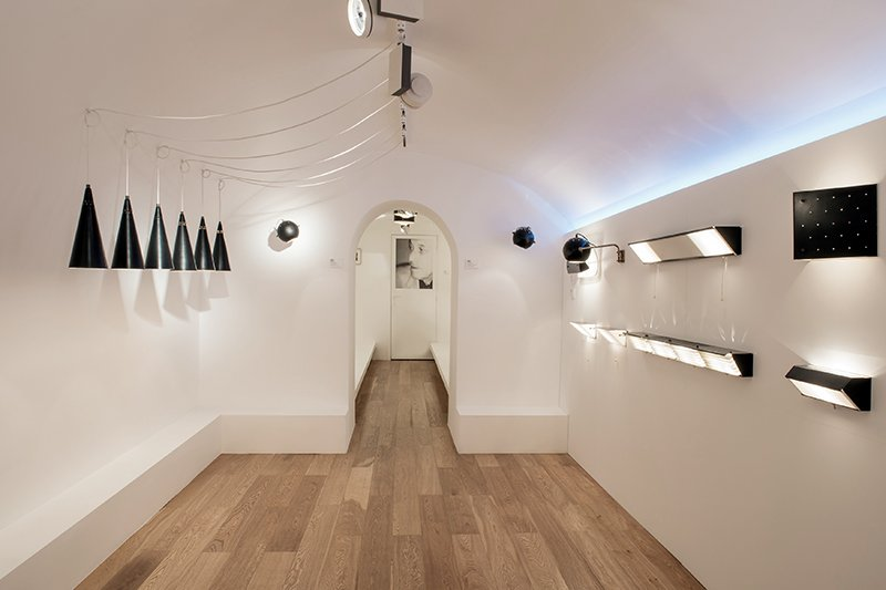 Biny installation as Galerie Pascal Cuisinier