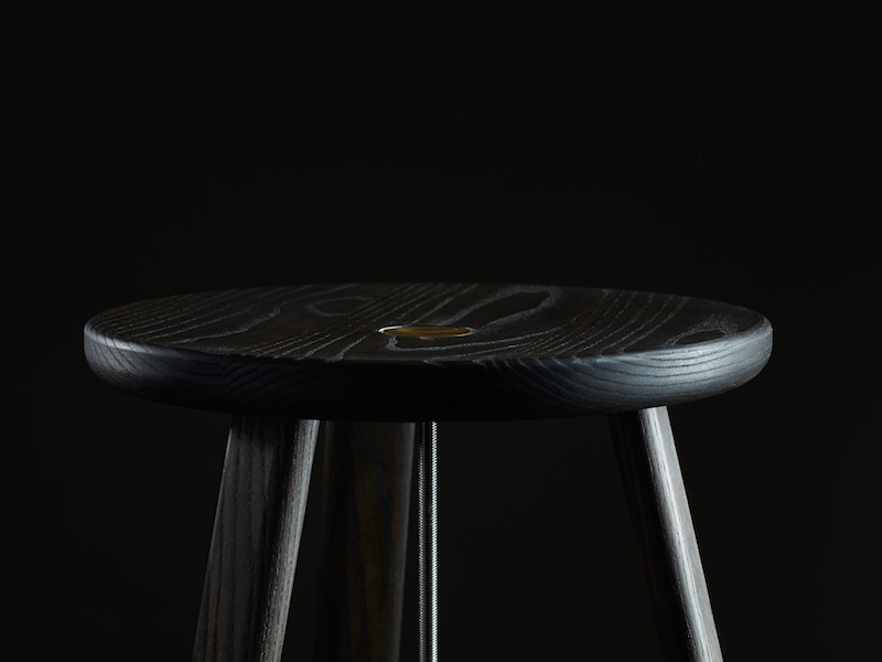 Detail of Daast's Harpoon Stool (2014-15)