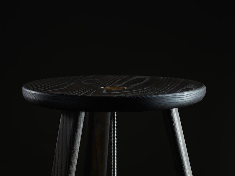 Detail of Daast's Harpoon Stool (2014-15)