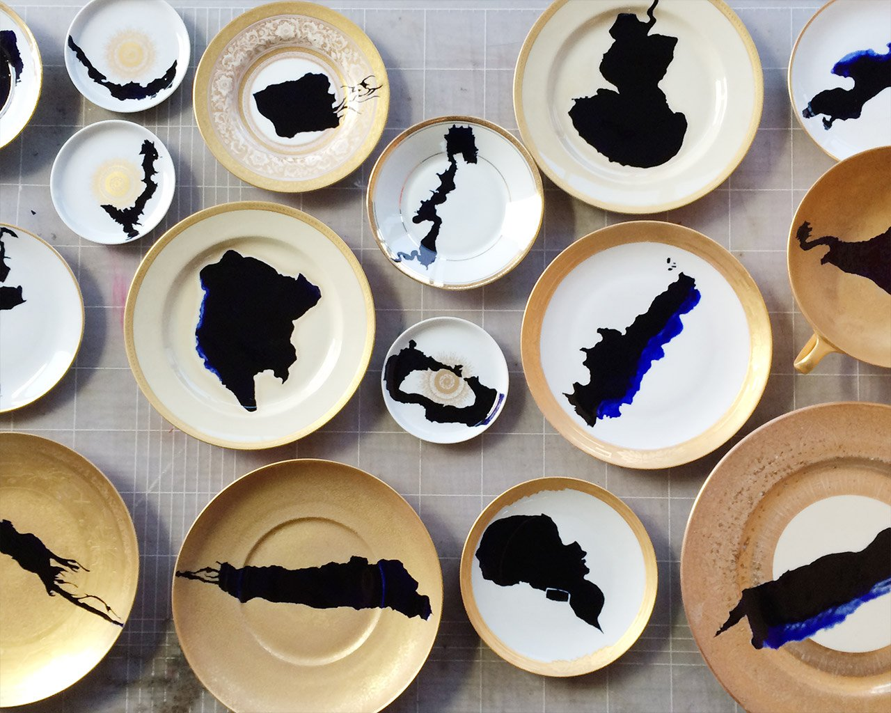 The resulting Forbidden Lakes plates!