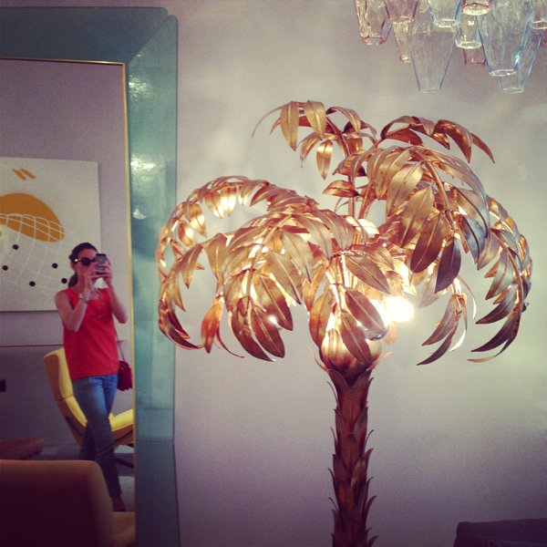 gold palm tree