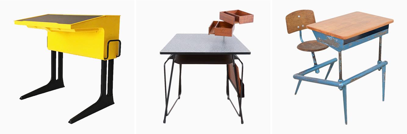 ... Rechts) Ist Ein Entwurf Von Luigi Colani Aus Dem Jahr 1970. Er Wurde  Von Flötotto In Deutschland Hergestellt. Der Höhenverstellbare Tisch Lässt  Sich Für ...