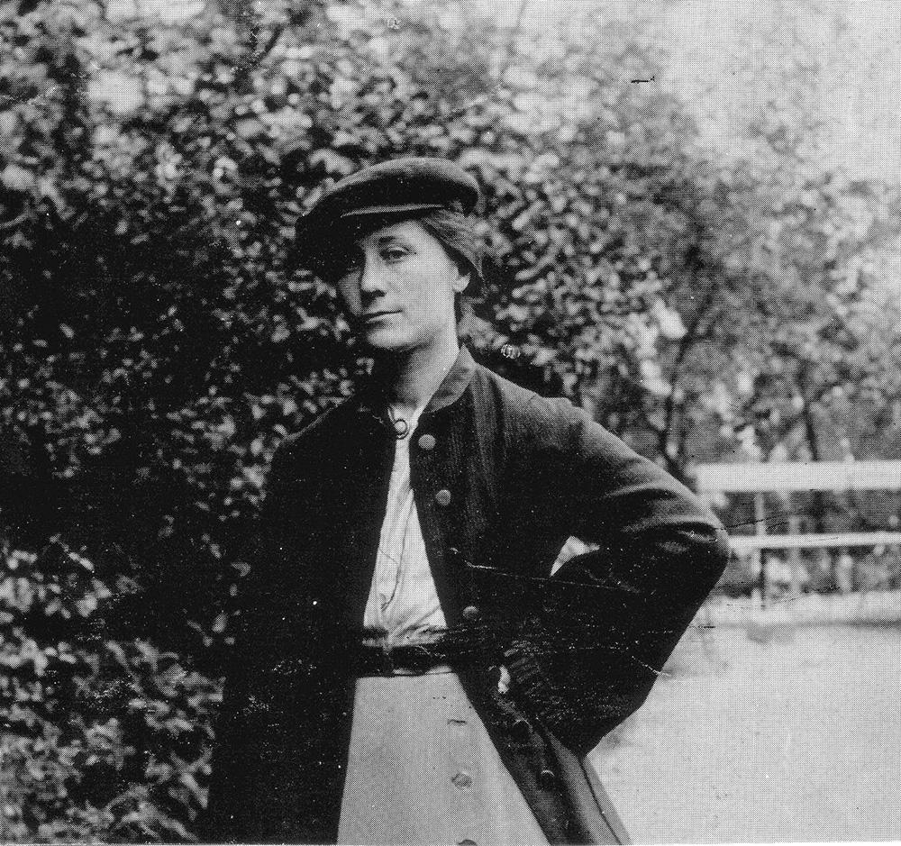 Portrait of Gertrud Kleinhempel