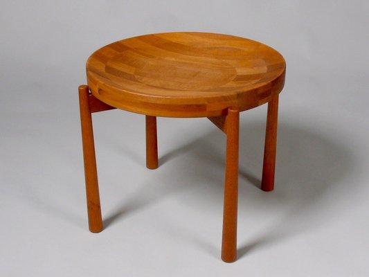 Side Table Teak.Burma Teak Side Table By Jens Harald Quistgaard