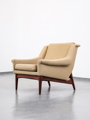 Customizable Teak Easy Chair By Folke Ohlsson For Dux 1960s Bei