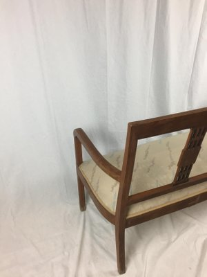 Wondrous Customizable Art Deco Wooden Bench For Sale At Pamono Pabps2019 Chair Design Images Pabps2019Com