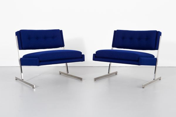 Brilliant Lounge Chairs By Harvey Probber 1960S Set Of 2 Gmtry Best Dining Table And Chair Ideas Images Gmtryco