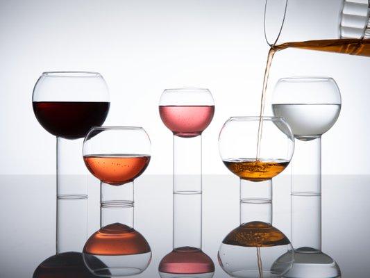 Small Tulip Glasses By Felicia Ferrone, Small Tulip Glass