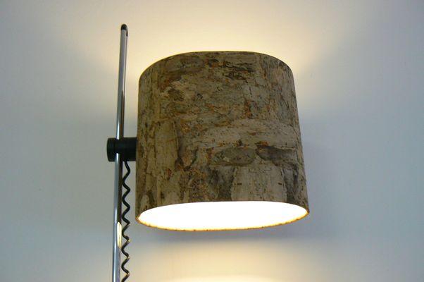 pie pantalla Lámpara corcho con de de Staff de 8nwOPX0k