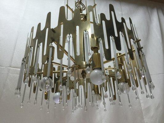 Moderne Kronleuchter Metall ~ Kronleuchter in weißer farbe aus holz und metall lamps