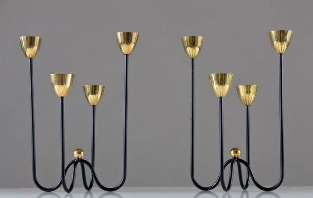 Kerzenständer von gunnar ander für ystad metall er set bei