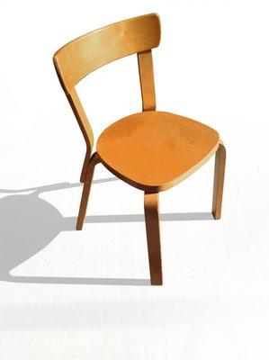 Birch Side Chair By Alvar Aalto For Artek 1937 1