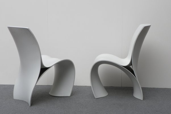 Terrific Three Skin Chairs By Ron Arad For Moroso 2004 Set Of 6 Bralicious Painted Fabric Chair Ideas Braliciousco