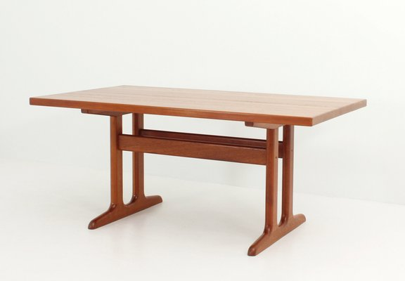 Danish Solid Teak Extendable Dining Table S For Sale At Pamono - Solid teak dining table for sale