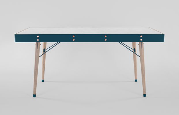 Communauté Table By Miltonpriest For Sale At Pamono - Communite table