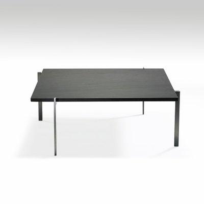 Table Basse PK61 en Ardoise par Poul Kjaerholm pour E. Kold ...