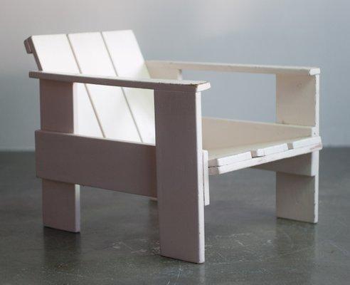 Phenomenal Crate Armlehnstuhl Von Gerrit Rietveld Fur Metz Co 1934 Download Free Architecture Designs Scobabritishbridgeorg