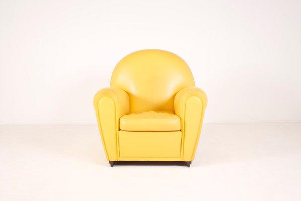 Italian Vanity Fair Armchair by Renzo Frau for Poltrona Frau for ...
