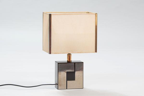 En De Bureau Et ChromeFrance Lampe Formica D2YWE9beHI