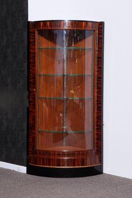 Vetrine ad angolo Art Déco, Francia, 1935, set di 2 in vendita su Pamono