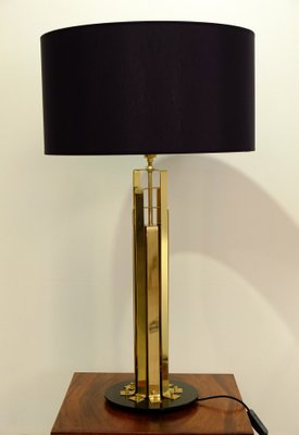 Large French Brass Table Lamp 1960s For Sale At Pamono