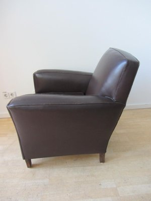 Small French Club Chair, 1940s 3