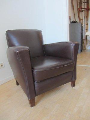 Kleiner Französischer Club Sessel 1940er Bei Pamono Kaufen