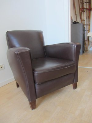 Small French Club Chair, 1940s 2