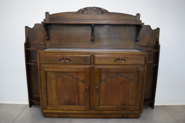 Italian Walnut Buffet From Giacomo Cometti 1920 For Sale At Pamono
