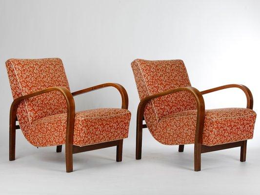 Vintage Sessel Von Kropáček Und Kuželka 2er Set Bei Pamono Kaufen
