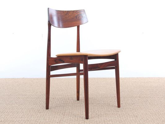 Mid Century Danish Rio Rosewood Dining Chairs 1960s Set Of 4