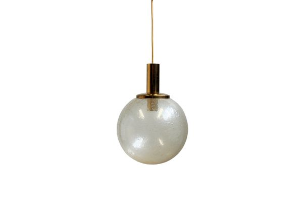 Large vintage glass globe pendant lamp for sale at pamono large vintage glass globe pendant lamp 1 aloadofball Image collections