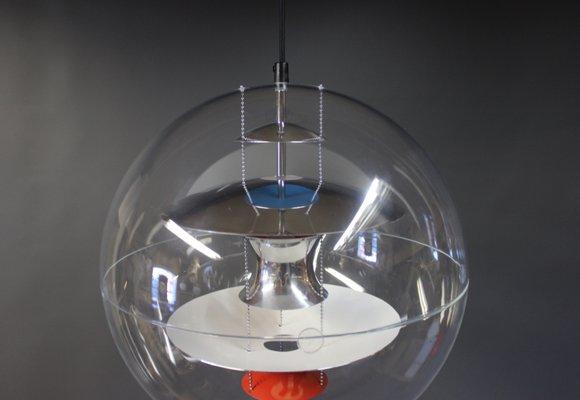 Utmerket Dänische Globe Lampe von Verner Panton, 1969 bei Pamono kaufen NX-89
