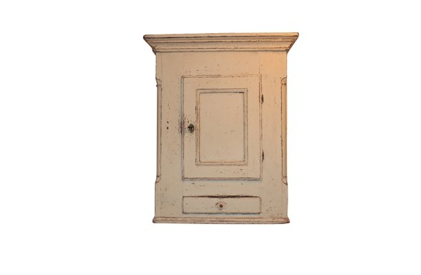 Antique Wall Cupboard, 1860s 1 - Antique Wall Cupboard, 1860s For Sale At Pamono
