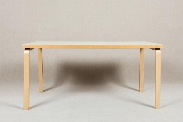 Design Alvar Aalto.82a Table By Alvar Aalto For Artek 1970s