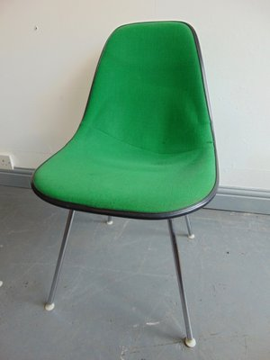 Vintage Herman Miller Chairs >> Vintage Green Side Chair By Charles And Ray Eames For Herman Miller