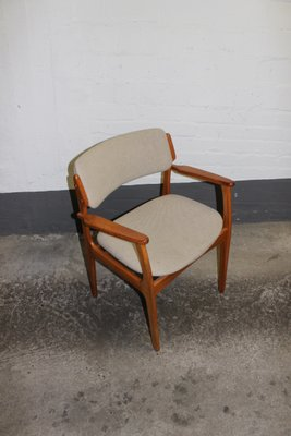Mid Century Danish Model 49 Chair By Erik Buch For O.D. Mobler AS, 1960s