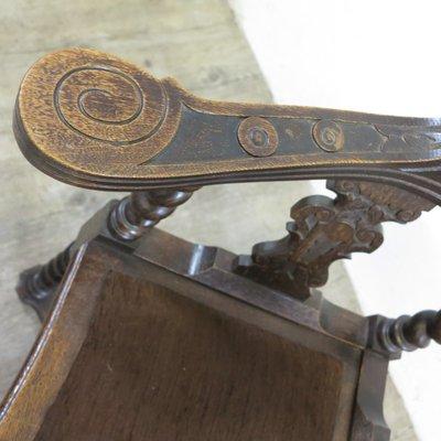 Que   suis -  je? ajonc  19 juin   bravo  Jovany Chaise-d-angle-antique-gruenderzeit-9