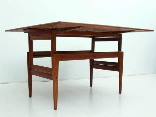 Mesa de comedor y mesa de centro Mid-Century metafórmicas de Kai  Kristiansen para Vildbjerg Møbelfabrik